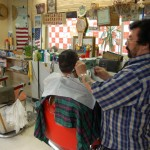 Barbers at the Moore Street Market
